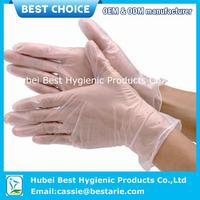 surgical general use vinyl gloves with ce and fda