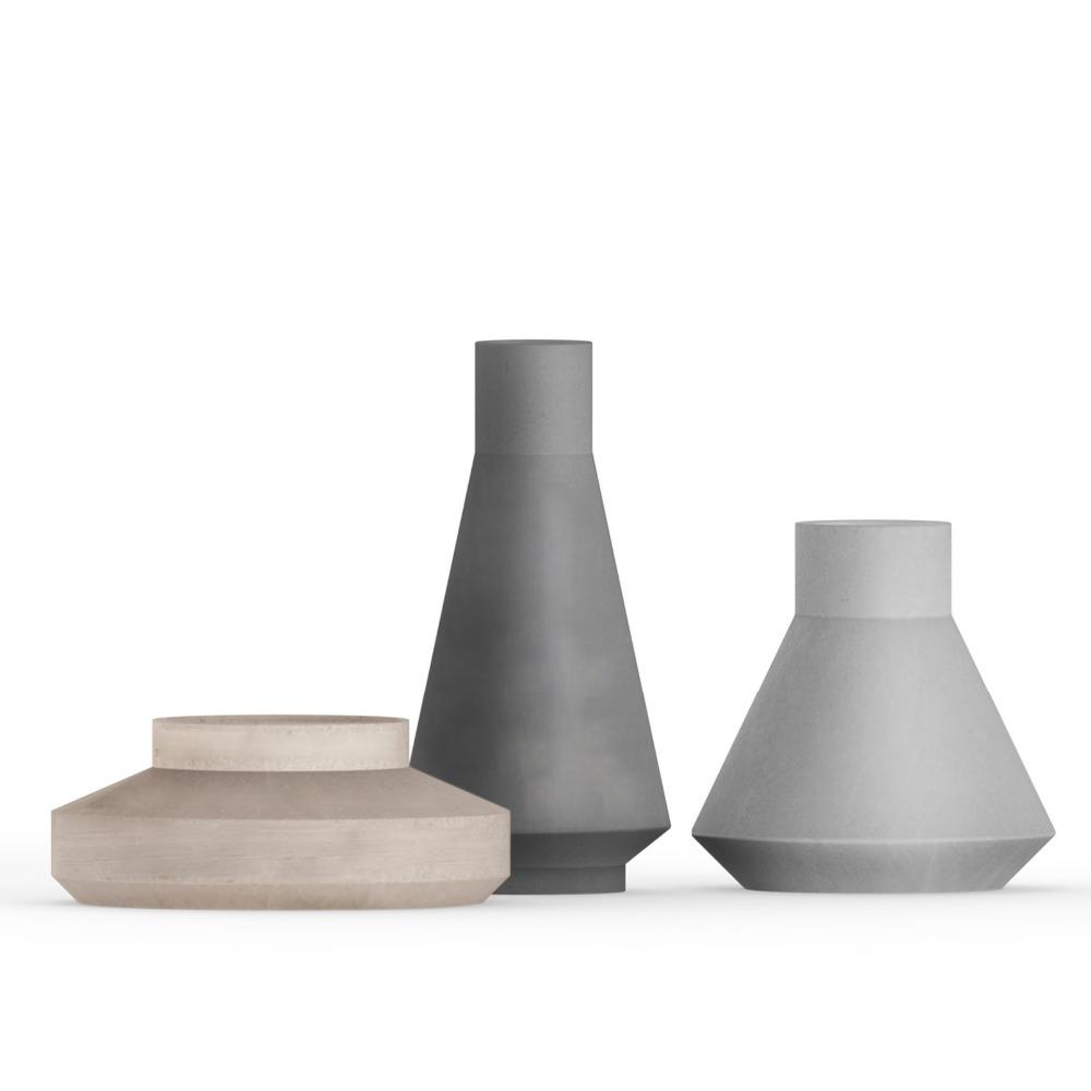 beton oder zement haushaltswaren outdoor und indoor pflanzgef e kleine beton garten t pfe. Black Bedroom Furniture Sets. Home Design Ideas