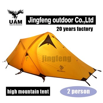 custom tent for outdoor waterproof windproof mountain camping tent