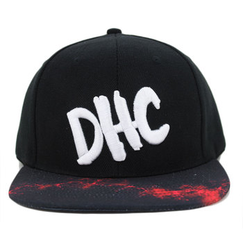custom wholesaler plain fedora 3d acrylic letters short brim snapback hats 6210cc5512a2