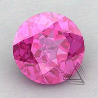 Pink Topaz Round Shape Calibrated Gemstones, Natural Stones, Beads Supplies