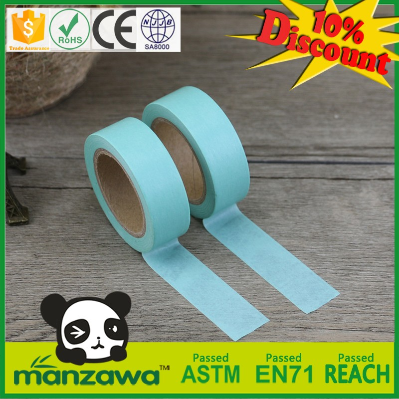 Professional decorative duct tape general purpose masking tape japanese color tape