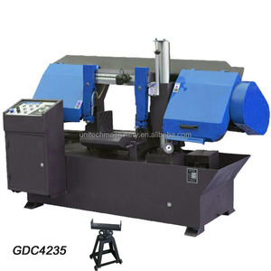 GDC4235 variable speed manual feed metal sawing band saw machine