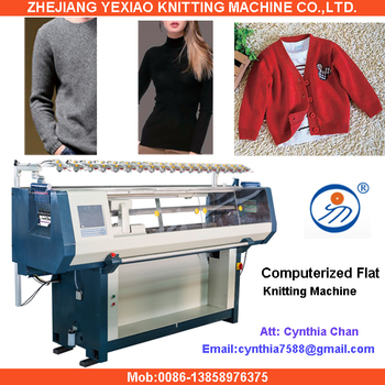 02ff7b477 Manual Manufacturers Computerized Auto Sweater Knitting Machine ...