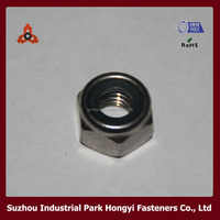 Stainless Steel Self Locking Nuts with Nylon Insert DIN 982