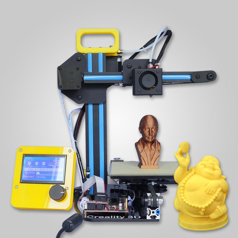 Afinibot Latest Technology Mini 3d printer DIY kit high Efficiency high precision Portable 3d ...