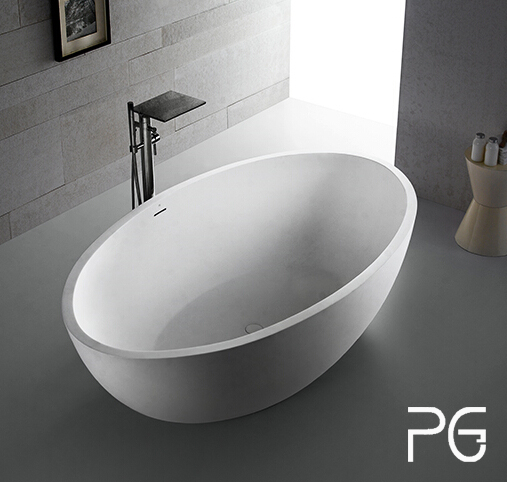 freestanding Big size two person bathtub for home bathroom