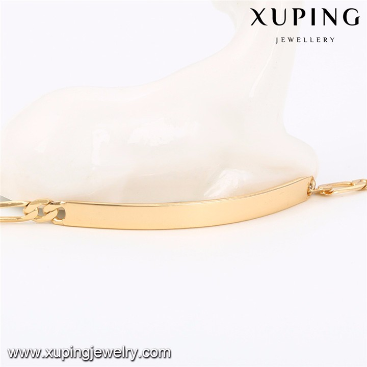 74609 xuping new design 18k gold plated baby bracelet