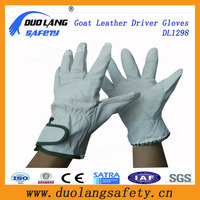 youth white driver leather gloves touchscreen leather gloves