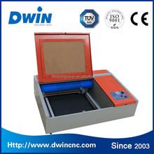 DW40 mini cnc stamp laser machine rubber stamp engraving laser