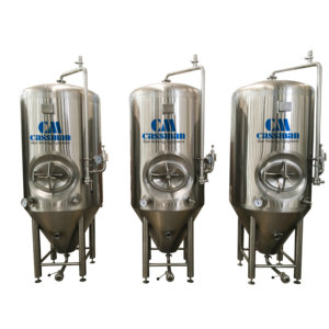 4500l red copper beer fermenting system for sales