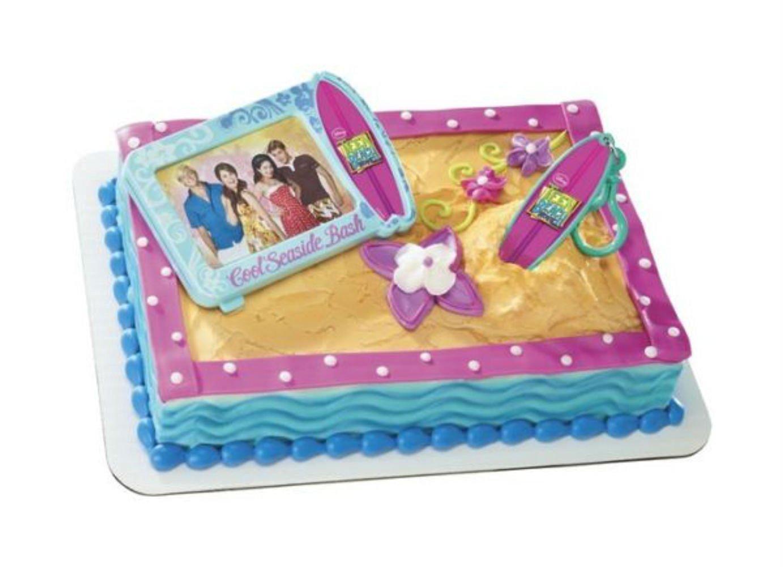 Brilliant Buy Cakedrake Teen Beach Movie Surfboard Frame Birthday Cake Party Personalised Birthday Cards Petedlily Jamesorg