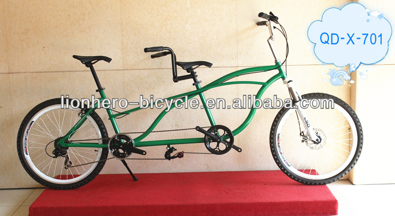 "26"" safe and comfortable tandem bike / two seat bicycles"