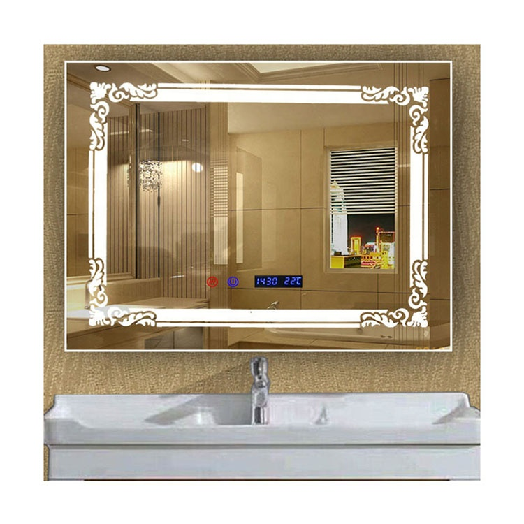 Nouveau monde en ligne shopping toilette intelligente led miroir lumineux led miroir de maquillage intelligent