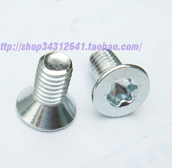 Steel Countersink Torx Machine Screws M6*12mm