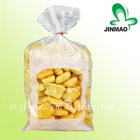 Food grade custom printed high transparent opp plastic bread bag