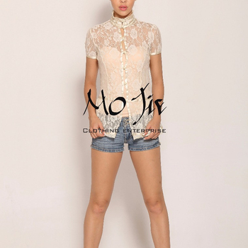 Victorian Lace Blouse Qipao Collar Floral Lace Buy Lace Tops