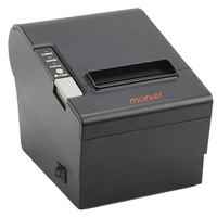 Financial POS system equipment high quality but cheap black 80mm pos thermal printer