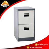 High Quality Alibaba Export Office Furniture 2 Drawer Metal Doucument Cabinet