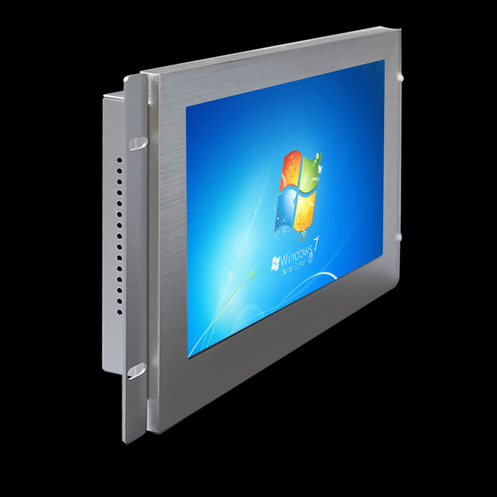 7 inch open frame sunlight readable industrial monitor for HMI