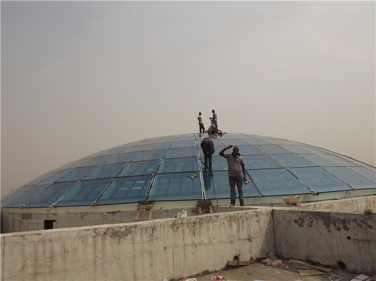 Prefabricated High Quality Glass Dome For Building