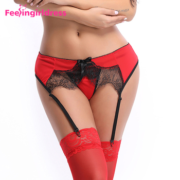 1ae9027a1aeaf Wholesale Plus Size Elastic Red Sexy Lace Garter Belt Lingerie White  Stocking