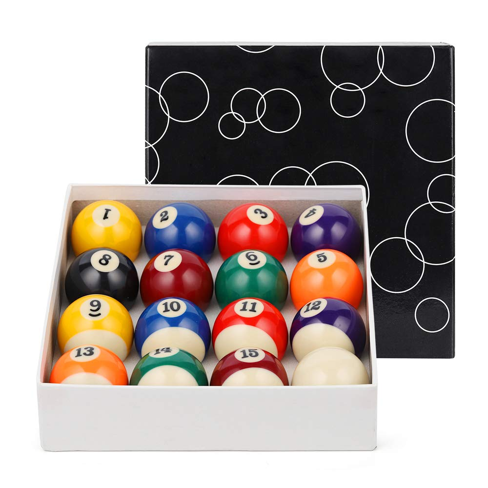 Economic Pool Ball Set - Standard Size Full 16 Billiard Ball Set