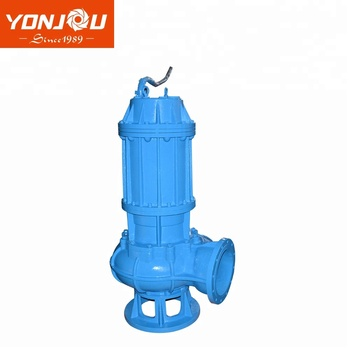 MSQ series vertical submersible slurry pump in work using