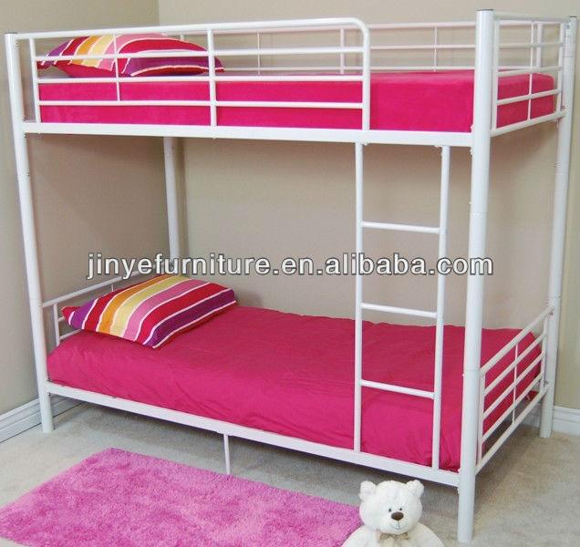 Двухъярусные детские кровати металлическая