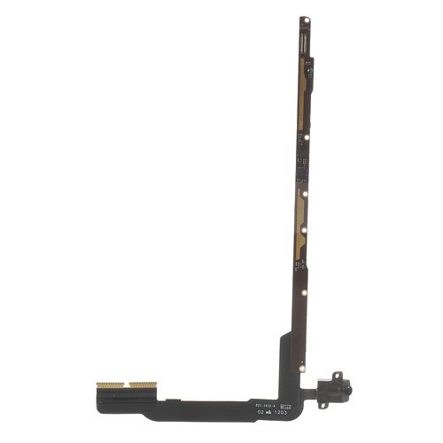 Generic Earphone Connector Port Audio Jack Flex Cable Ribbon Repair Headphone Replacement Part For iPad 4 Wifi And 3G Version (OEM)