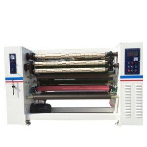 Top quality bopp crystal tape slitting machine gum tape making machine