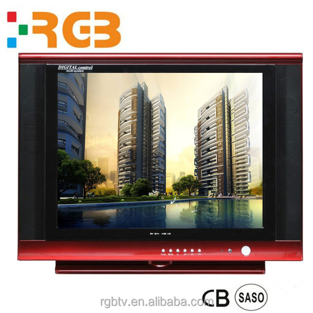 17 inch 20 inch 21 inch ultra slim tube CRT TV with high quality