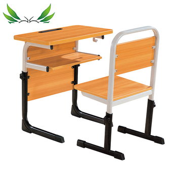 Height Adjustable Single School Desk And Chair For Classroom Student  (sf-51s) - Buy School Desk And Chair,Height Adjustable School  Desk,Classroom ...