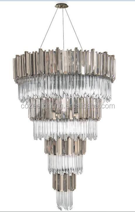 Grote Lamp Luxe Hotel Verlichting Lobby Receptie Kroonluchter ...
