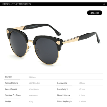 2018 High Quality China Fancy Custom Sunglasses Manufacturers Polarized lens or PC and TR90 frame sunglasses