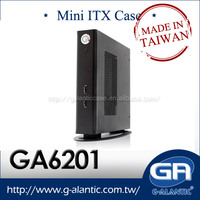 GA6201 - Industrial thin mini itx case for computer support OEM service
