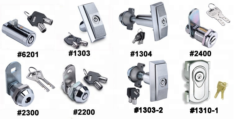 New prodcut the vending machine brass cylinder plug lock with stainless steel shield anchor bolt
