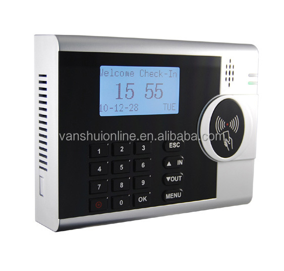 RFID Card Reader Time Attendance System with Keypad