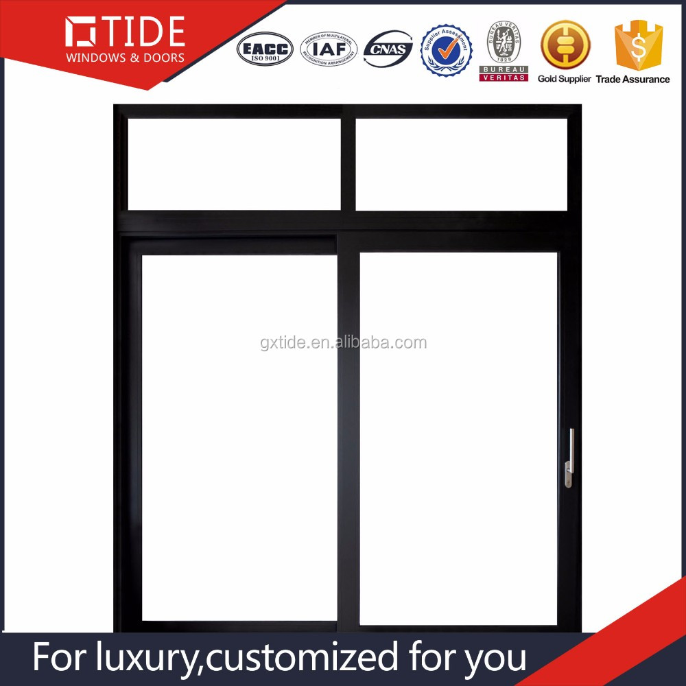 TIDE suppliers finished product aluminum profile sliding window to sell