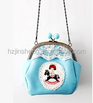 Trendy Custom Cute Design Kids Sling Bag/wallet - Buy Sling Bag ...