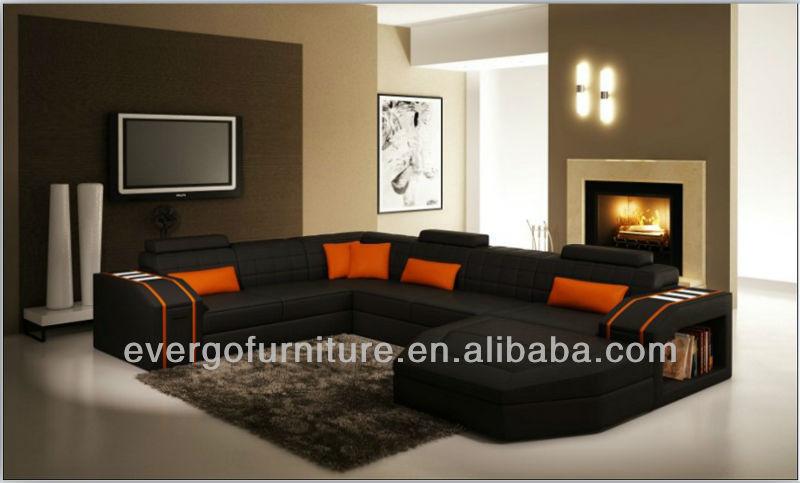 Moderne Salon Canap 233 Meubles En Forme De U Sectional Sofa