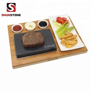 Cooking Stone- Complete Set Lava Hot Steak Stone Shunstone cooking rock
