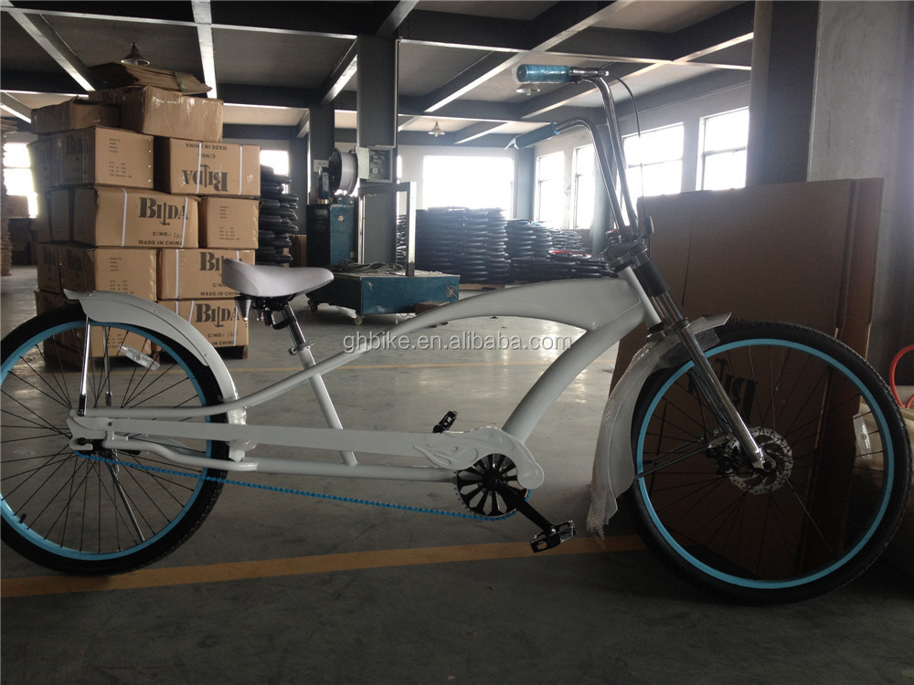 Long Frame Beach Cruiser Bike Stretch Beach Cruiser Bike - Buy ...