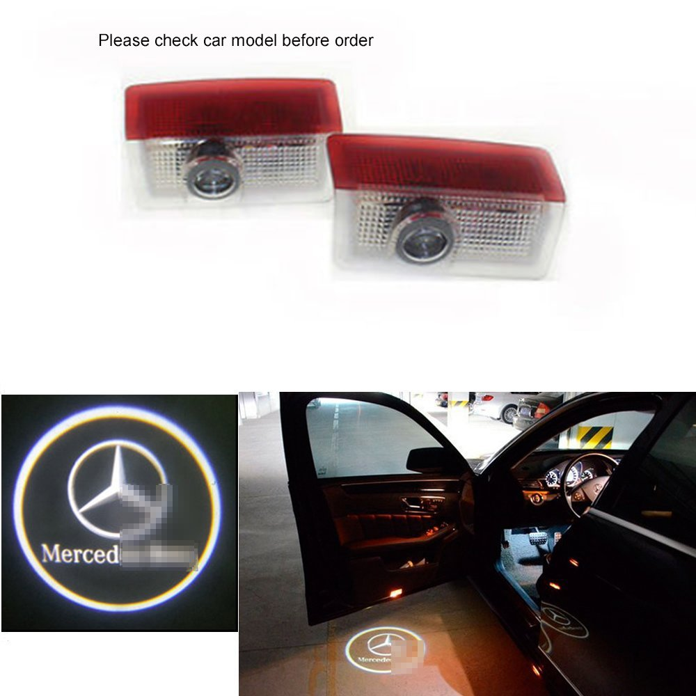 Cheap 2010 Benz E Class Find Deals On Line At Mercedes C280 4matic 2007 Side Markers Repair Wire Harness Get Quotations Car Door Led Lighting Entry Ghost Shadow Projector Welcome Lamp Logo Light For A B C