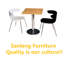 Foshan Furniture Restaurant Hotel Kitchen Dining Cafe chair Tables with cheap price