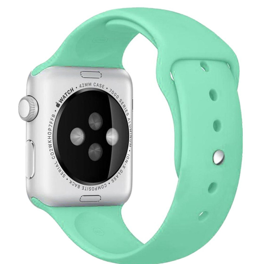 Apple Watch Band, Creazy® Sports Silicone Bracelet Strap Band for 38mm Apple Watch