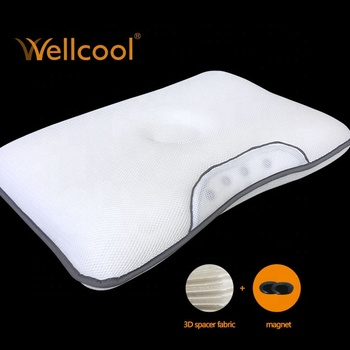 spacer mesh air conditioning magnetic 3d mesh pillow