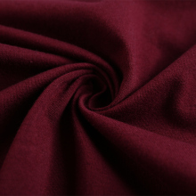 Combed 95% cotton 5% lycra single jersey fabric textile for cloth