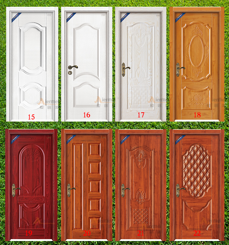 Melamine Board Mdf Wood Hotel Flush Room Door Insulated Interior Doors