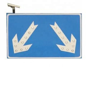 safety outdoor led traffic sign for roadway direction